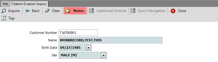 Dmv Select System Help Citation Evasion Cteinq